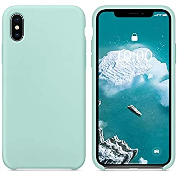 iphone xs silicone case green