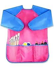 Kids Apron, Children Art Smock Toddler Aprons Child Waterproof Painting Supplies