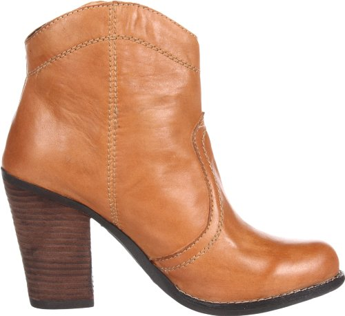 Kelsi Dolk Brooklyn Womens Hanly Enkellaars Cognac