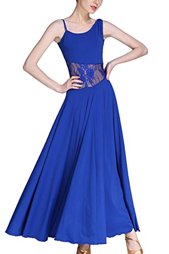 skirts Modern Ballroom Waltz standard Social Blue dancing dance dance dress National Hdxfrd