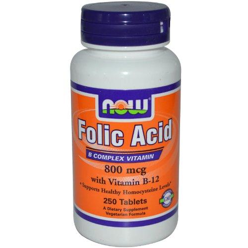 NOW Foods Folic Acid 800mcg