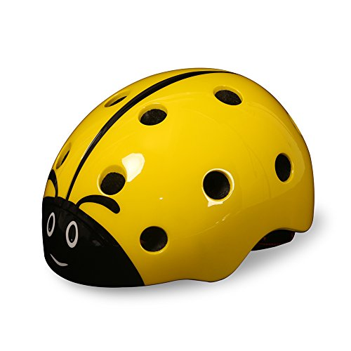 Childrens-Multi-Sport-Ladybug-Helmet-For-GirlsBoys-Skiing-Snowboarding-Scootering-Cycling