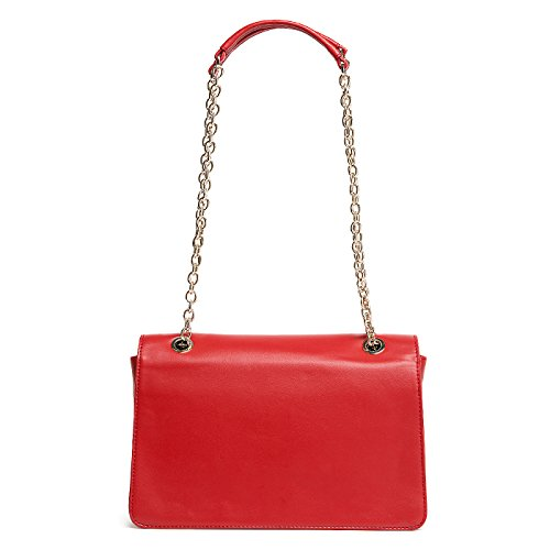 Love Moschino Melting Love Schultertasche rot