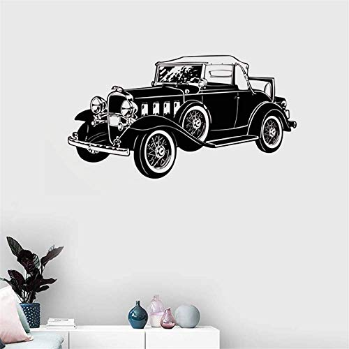 Removable Wall Decals Inspirational Vinyl Wall Art 1930S Classic Car for Living Room Boys ROM]()
