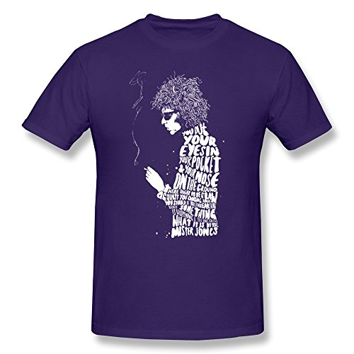 YUTUO Men's Bob Dylan Ballad Of A Thin