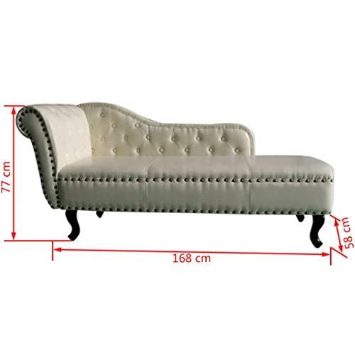 Longue Canapé D'extérieur En Artificiel Chaise Cuir Irving Roderick edCWxorB