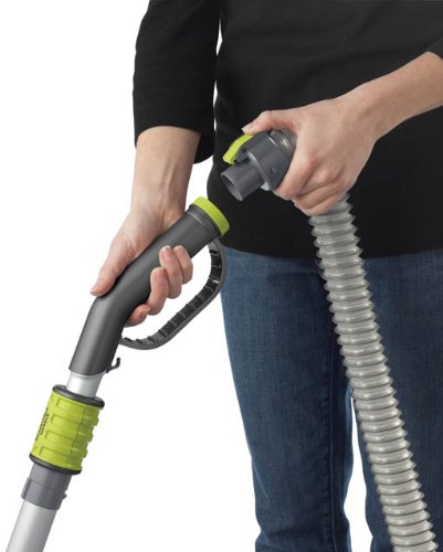 Hoover WindTunnel Air Bagless Upright Corded Lightweight Vacuum Cleaner - hose attachment
