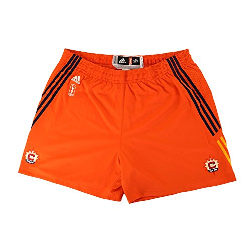 (adidas Connecticut Sun Authentic On-Court Team Issued WNBA Orange Shorts Women's)