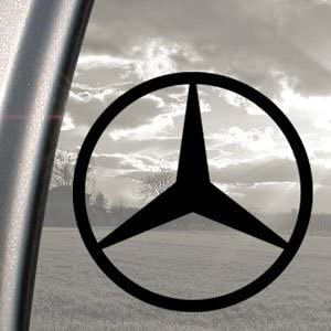 Mercedes Benz Black Decal C E S Class Truck Window Sticker