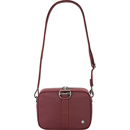 Square merlot Citysafe Pacsafe theft Anti Bag Crossbody Cx 44wF8qa