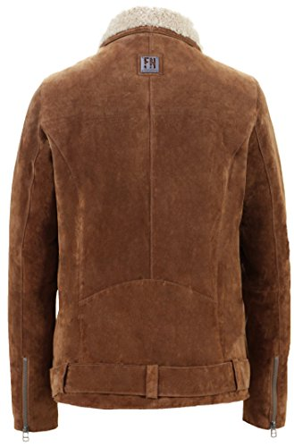 Freaky Nation Holly, Chaqueta para Mujer Braun (Cognac/Birch 8072)