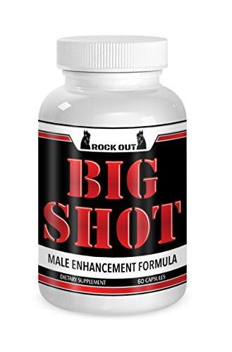 Big Shot Male Enhancement Semen Volumizer for Men Increase Stamina with The Big Shot Method eBook and Jelqing Enhancer