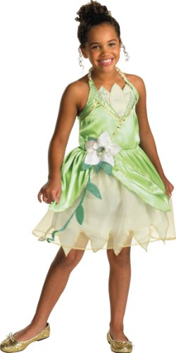Princess Tiana Classic Costume - Medium (7-8)