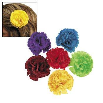 Fiesta Flower Hair Clips - Cinco de Mayo & Costume Accessories