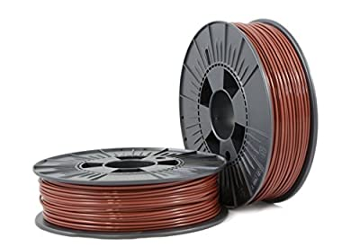 ABS 2,85mm brown ca. RAL 8016 0,75kg - 3D Filament Supplies