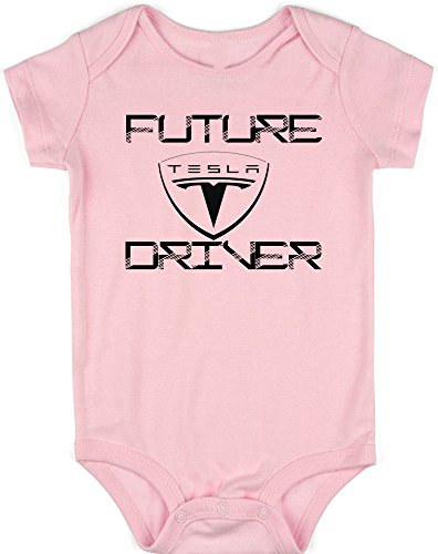VRW Future Tesla Driver Unisex Baby Onesie Romper Bodysuit