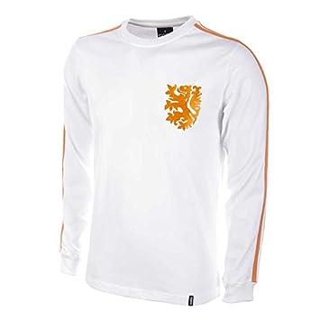 COPA Football - Camiseta Retro Holanda 2º equipación años Mundial 1982 (L)