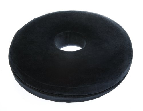 Donut Pillow - Best Ring Shaped Memory Foam Pillows - Relief of Lower Back and Hemorrhoid Pain