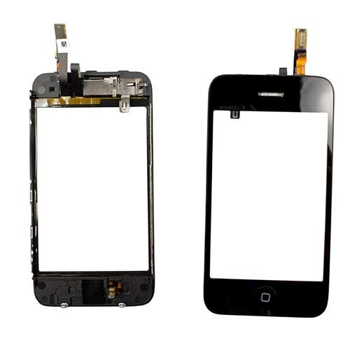Digitizer Bezel Assembly for Iphone - 3g Screen Replacement Iphone