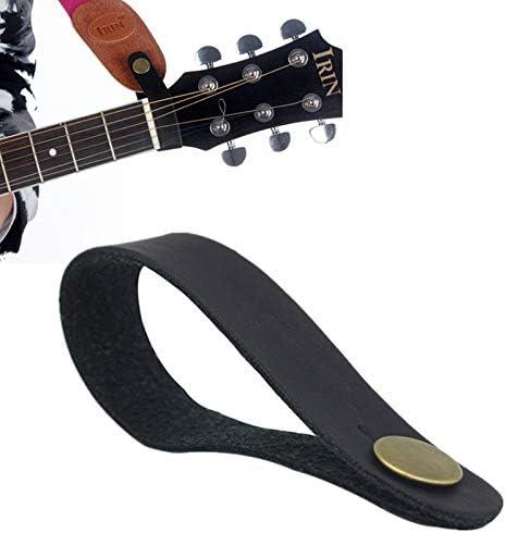 OriGlam Correa de piel para guitarra, diseño de botón, correa para ...