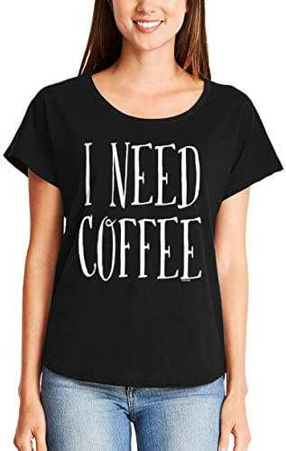 I Need Coffee - Mornings Latte Cappuccino Ladies Dolman