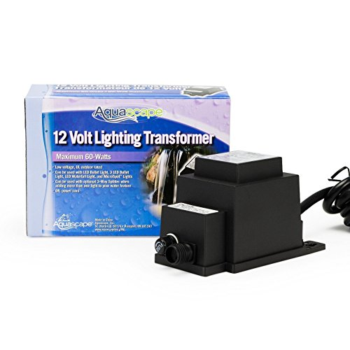 Aquascape Manual 60-Watt 12 Volt Transformer 98486 ;PMN#4534TG48 3464YHRE251595