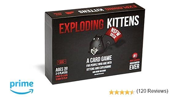 Exploding Kittens NSFW Edition - Juego de Cartas (Contenido ...
