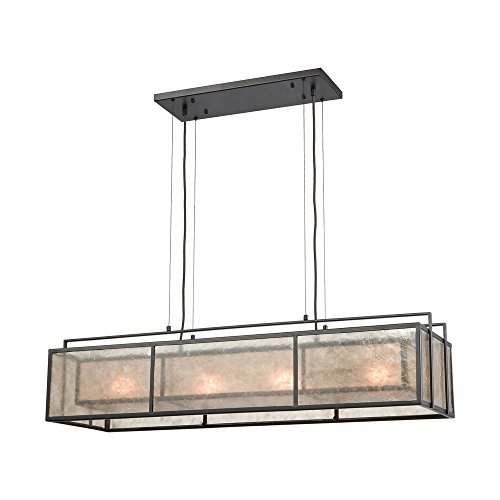 Elk Island Fixtures (Elk Lighting Stasis 4 Billiard/Island Oil Rubbed Bronze)