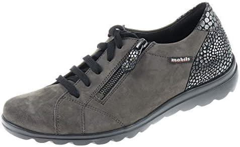 Mobils Ergonomic by Mephisto Camilia C2490 - Zapatilla con Cordones para Mujer, Color Gris, Color, Talla 37 EU: Amazon.es: Zapatos y complementos