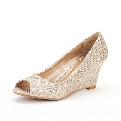DREAM-PAIRS-CELESTE-Womens-Elegant-Classic-Open-Toe-Mid-Heel-Wedge-Heel-Pumps-Shoes-New