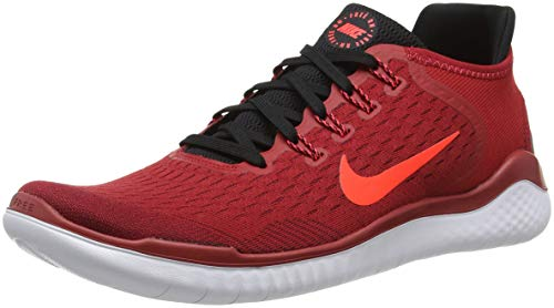 Crimson Black Multicolore 2018 Free NIKE Red 602 RN Homme Red Compétition Team Running Bright Chaussures Gym de f78qO