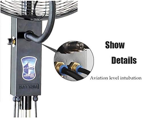 ZRX-Fans Koelventilator met afstandsbediening Misting Spray Luchtbevochtiger Rustige Verticale Oscillerende Ventilator Atomisatie Commerciële Industriële Verstelbare Hoogte 6FhuS10x