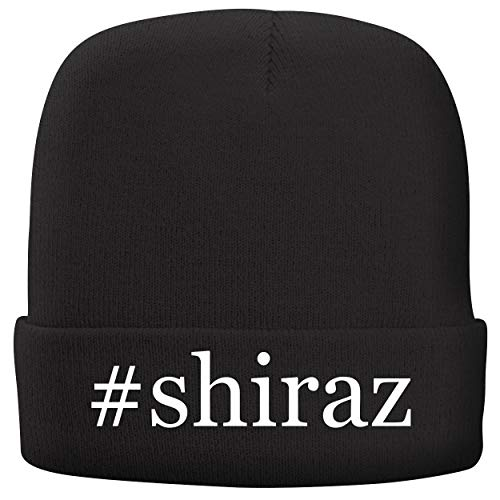 BH Cool Designs #Shiraz - Adult Hashtag Comfortable Fleece Lined Beanie, Black
