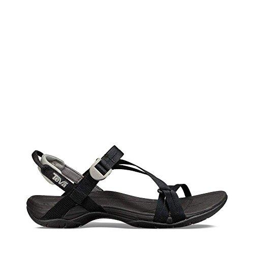 Teva Women's W Sirra Sport Sandal, Black, 7 M US