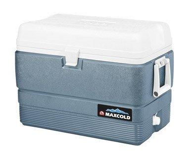 (Igloo MaxCold Cooler (50-Quart, ICY Blue))