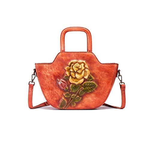 Main De à La Style Simple Red Bandoulière Dames à Sac Mode AJLBT Sac Style Fait Chinois Rétro fzBwRqA