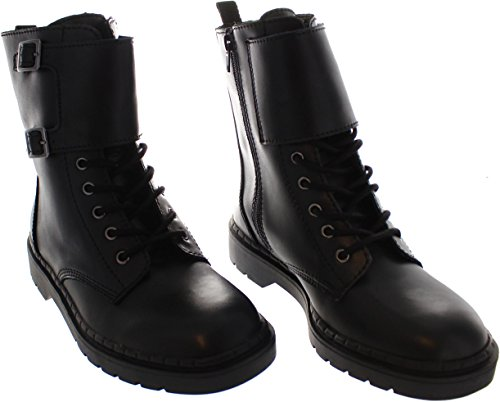 T k Boots Combat Adult's u A9142 Leather rpFrnx
