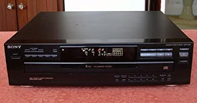 Sony CDP-C345 CD Changer Player 5 Disc Exchange System from Sony