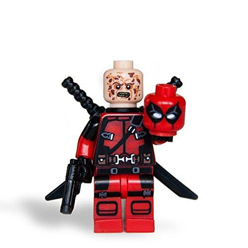 Custom Deadpool Character Minifigures Building Blocks Collection mini figure by