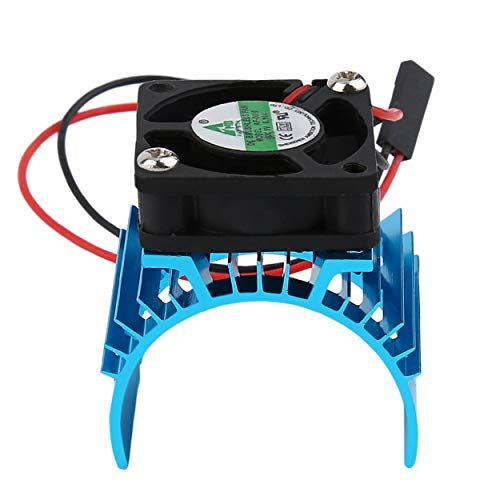 Durable Brushless Heatsink Radiator And Fan Cooling Aluminum 550 540 3650 Size Sink Cover Electric Engine For RC HSP Model: