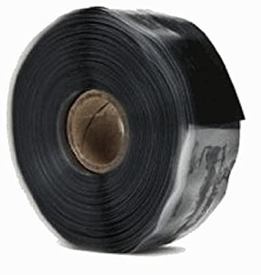 Emergency Repair Tape, Self-Fusing Silicone Tape, 12' x 1""