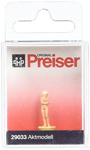 Preiser 29033 Individual Figure Working People Nude Female Model HO Model Figure ()
