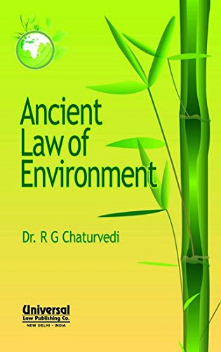 Read Online Ancient Law of Environmnet PDF