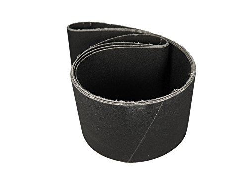 4 X 36 Inch Silicon Carbide Extra Fine Grit Sanding Belts 600, (1 3 4 Leather Belt)