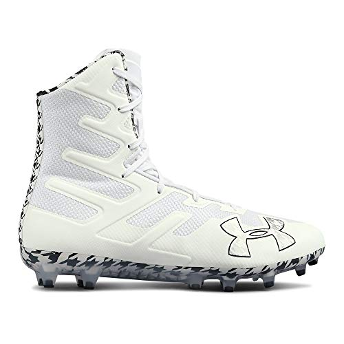 (Under Armour Men's Highlight MC Limited Edition Lacrosse Shoe, (101)/White, 11)
