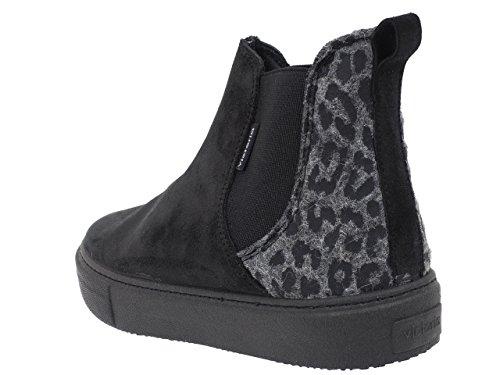 Victoria125046 - Zapatillas de Deporte Unisex adulto Negro - negro