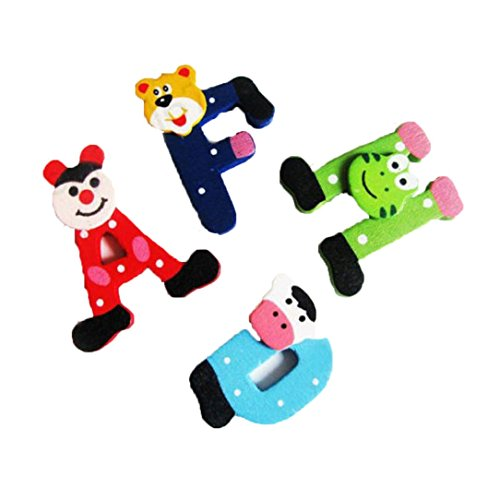Price comparison product image Kids Toddler Baby Cartoon Animals Wooden Puzzle Toys Educational Training Developmental Intelligence Training Toy Preschool Learning Growing Experiment Game Gift 1-5 Years (Colorful)