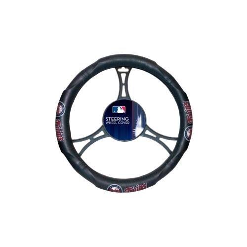 MLB Minnesota Twins Steering Wheel Cover ()