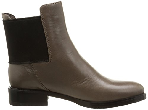 Clarks Marquette Wish - botines chelsea de cuero mujer Beige (Taupe Leather)