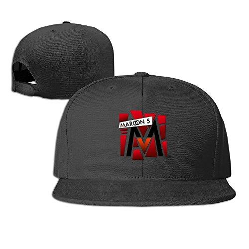 MaNeg Maroon 5 T Shirt Print By Anubisphinx D4y165w Unisex Fashion Cool Adjustable Snapback Baseball Cap Hat One Size - Online Prada Men